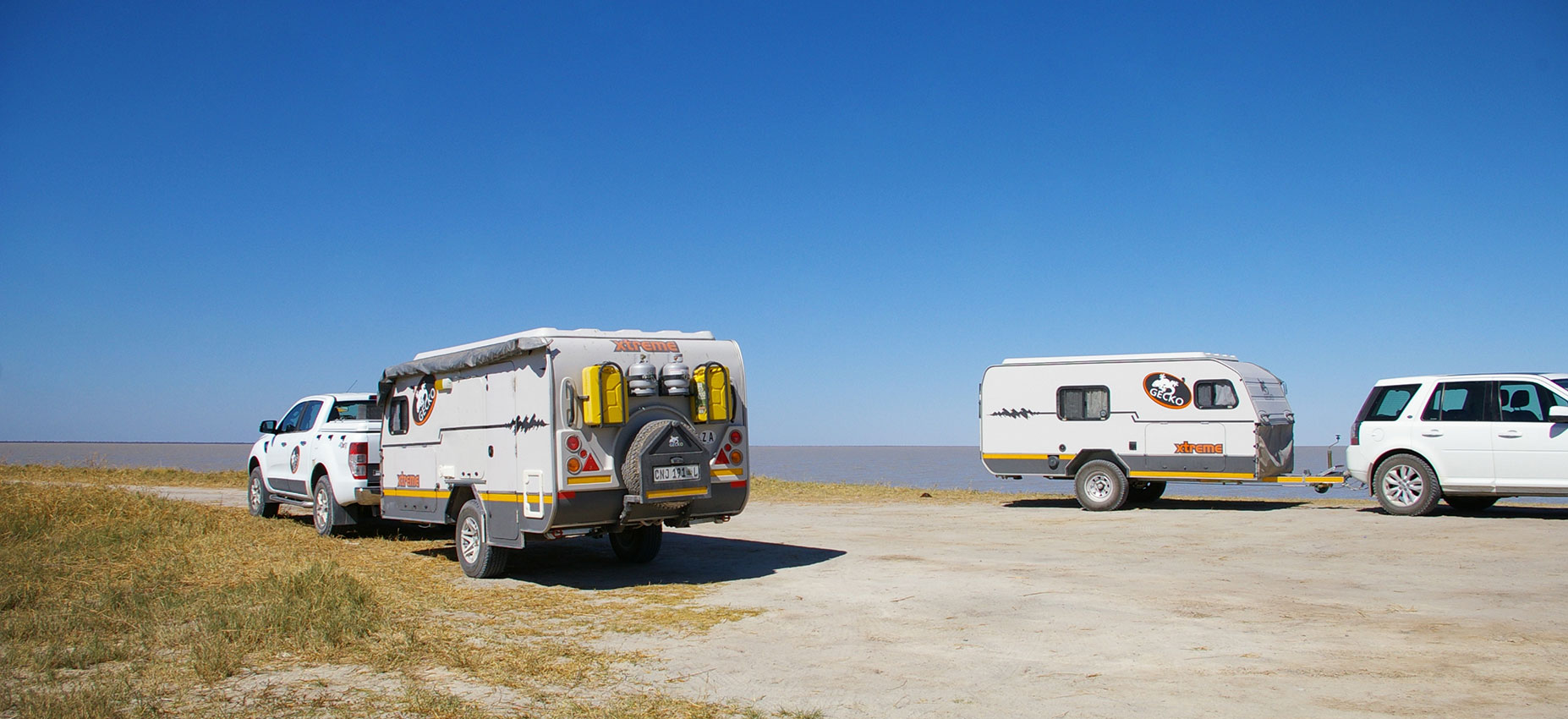 Offroad Caravans Resting